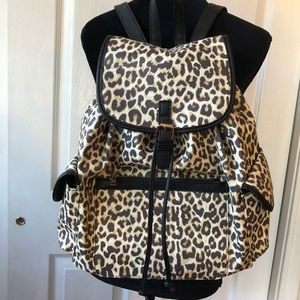 Under One Sky Leopard Print Backpack
